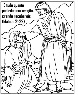 Jesus And John The Baptist Coloring Page